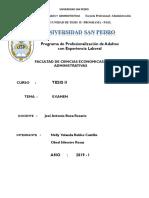 1,1 Examen Work Tesis II