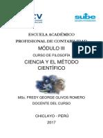 Modulo III Ciencia
