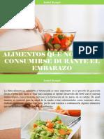 Isabel Rangel - Alimentos Que No Deben Consumirse Durante El Embarazo