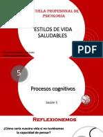Psicología (Enfermería)-Sesión 5 Procesos Cognitivos- 2019-1-20190514120318