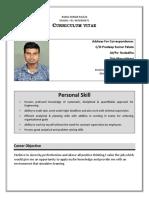Rahul Job Resume
