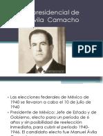 Elección Presidencial de Manuel Ávila Camacho