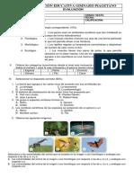 Evaluación Guia Taxonomia Sexto_biologia