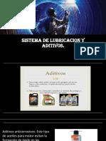 Sistema de Lubricacion y Aditivos