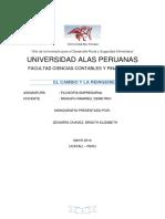 Monografia Del Cambio y La Reingenieria