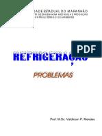 Problemas de refrigeração [Prof. M.Sc. Valdirson P. Mendes].pdf