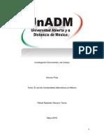 S8. Actividad 1. Integración y Redacción Del Informe Final