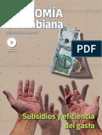 Economía Colombiana Subsidios y Eficiencia Del Gasto Público