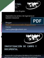 Investigación de Campo y Documental - Informe Final