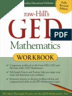 Jerry Howett McGraw Hills GED Mathematics Workbook McGraw Hill 2002