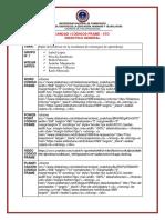 GRUPO 1- Papel del profesor en la enseñanza de estrategias de aprendizaje