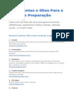 Ferramentas+e+Sites+Para+a+Etapa+de+Preparacao