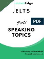 Ielts Speaking Questionsjj