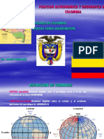 Posicion Astronomica y Geografica de Colombia Grado 9º
