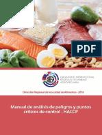 Manual de Análisis de Peligros y Puntos Críticos de Control - HACCP