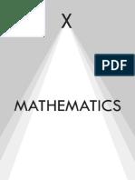 Class 10 Math Workbook