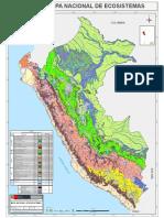 Mapa de Ecosistemas