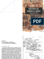 Bethell La Conquista Española y Las Colonias e America Capitulo 6