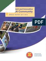 ASEAN Annual Report 2017 2018