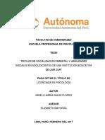 estilos de socializacion parental y HS. 2017.pdf