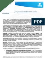 Implementación de Un Proceso de Planificación de Carrera Profesional
