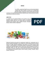 Nestlé Portafolio de Productos