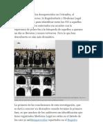 Ante El Drama de Los Desaparecidos en Colombia