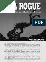 Sea-Rogue Manual DOS En