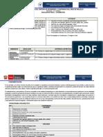 Estructura de Silabo Educ. Fisica III
