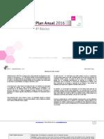 Planificacion Anual Artes Visulaes 4basico 2016