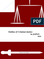 Outline of Criminal Justice in Japan 2016