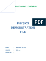 89630482 Physics Practical Project for C