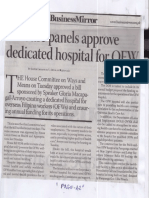 Business Mirror, May 29, 2019, 3 House panels approve dedicated hospital for OFW.pdf