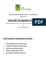 Aircraft Navigation Systems