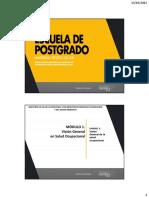 Unidad 3 - Visión General de La Salud Ocupacional - Dr Ruiz