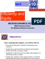 Lecture 10_Efficiency and Equity_1