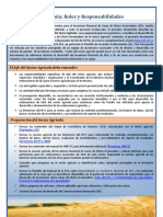 Funciones y Responsabilidades de Sector de Agricultura