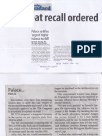 Manila Standard, May 29, 2019, Pork meat recall ordered.pdf