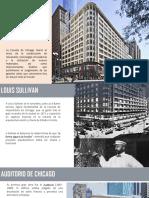 Escuela Chicago ,Lous Sullivan, Movimientos Adaptados