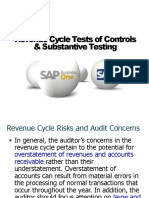 SAP Revenue Cycle Tests