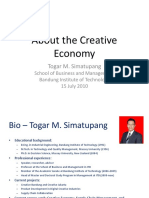 About the Creative Economy