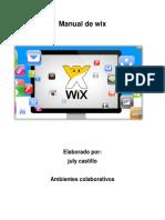 Manual de Wix