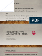 Convection Type Air-heated Fish Dryer..