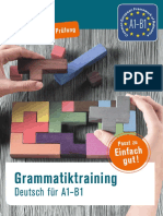 Grammatiktraining a1-b1 Probekapitel