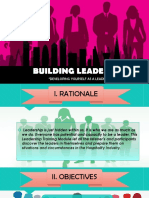 Building Leadership Module
