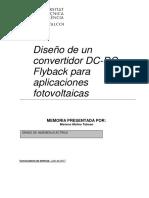 MOLINA - Diseño de Un Convertidor DC-DC Flyback Para Aplicaciones Fotovoltaicas.