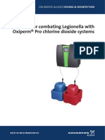 Guidelines for Combating Legionella En