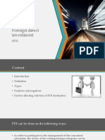 Hr -Types of Fdi Horizontal and Vertical