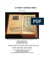 Martin Luthers German Bible Version 3.0