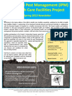 IPM in Health Care Facilities Newsletter SPRING2013